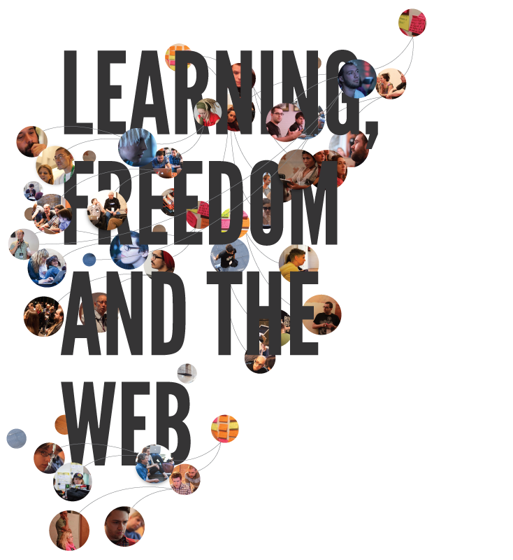 Learning, Freedom and the web (natural discovery, imagination, build, hack, inspire and share)